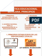 LA POLÍTICA EDUCACIONAL MEXICANA