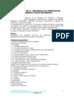Curso NR 13 - Operação de Caldeiras e Vasos de Pressão