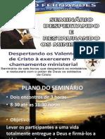 Despertando e Restaurando os Ministérios MÓDULO 1