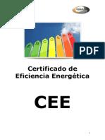 Certificado de Eficiencia Energética. Cattalogo ÓVALO