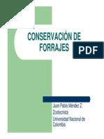 Conservacion de Forrajes