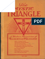 AMORC - The Mystic Triangle,  May 1926