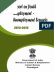 Labour Bureau - Youth Unemployment 2012-13
