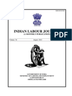 Indian Labour Journal Aug 2013