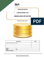 Lab 09 - Modelado de Datoss