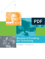 Gonski Report_Review of Funding
