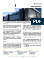 SolarWall Case Study - Marks & Spencer Distribution Center - solar air heating system