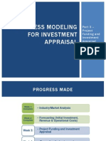 Business Modeling for Investment Appraisal - Part 3- 3 Nov 2013