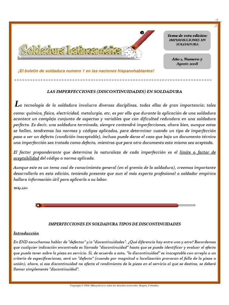 Boletin_agosto_2008[1] Discontinuidades en Soldadura