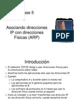 Clase 5 Mapeando Direcciones Fisicas e IP