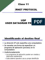 Clase 11 - UDP User Datagram Protocol