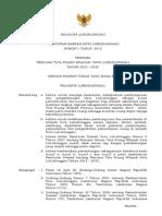 Peraturan Daerah Kota Lubuklinggau Nomor 1 Tahun 2012 Tentang Rencana Tata Ruang Wilayah Kota Lubuklinggau Tahun 2012 - 2032