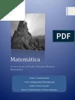 Corrección de la Prueba Usando Wolfram Mathematica