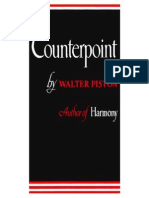 Walter Piston Counterpoint