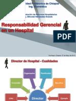 1.2. Responsabilidad Gerencial en un Hospital - Director de Hospital
