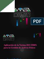 Conferencia Aplicacion de La Norma ISO 5500X Para La Gestion de Activos Fisicos