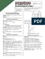 Apostila Função até 1º grau (17 páginas, 90 questões)