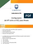 Lab 04-Filtrado de Paquetes