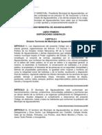 CÓDIGO MUNICIPAL DE AGUASCALIENTES AL 4 DE MARZO DEL 2013