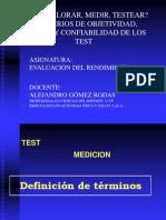 Clase MedicinA y Tests I