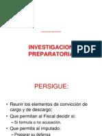 La Investigacion Preparatoria