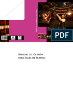 Manual de Gestion Para Salas de Teatro