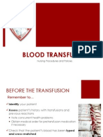 blood transfusions ppt presentation- rachelle arcuri