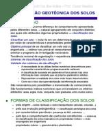 Artigo - Classificação geotécnica dos solos