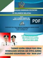 Pengembangan Kawasan Ekonomi di Sulawesi Selatan