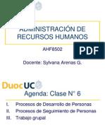 Clase 6 - Desarrollo y Seguimiento