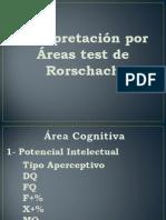 4 Clase - Interpretacion Rorschach
