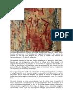 Las pinturas rupestres de Yamón se encuentran ubicadas en el distrito de Yamón