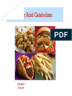 New 5 Fatty Acid Catabolism