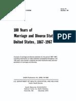100 Yrs Marriage Div Usa