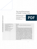 The Social Determinants of Health Kl