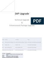 SAP Upgrade