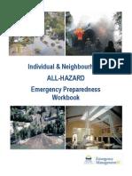 general - all hazard preparedness workbook