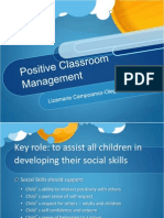 Positive Classroom Management