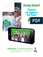 Going Green? There's an agency for that. 
