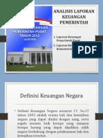 Analisis Laporan Keuangan Pemerintah-updated