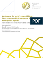 Addressing the world's biggest killers: