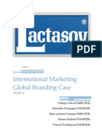 International Marketing Exporting Brand Project