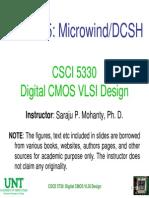 Mohanty - VLSI Microwind