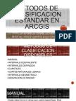 Metodos de Clasificacion Estandar en Arcgis
