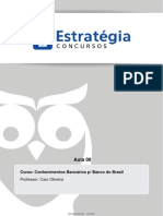 Conhecimentos Bancarios p Banco Do Brasil Aula 00 Bb Aula 0 Sfn 30534