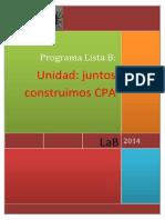 Programa Mesa Lista b2