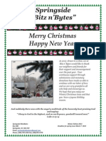 Springside Saskatchewan  BitznBytes Winter/Christmas issue 2013