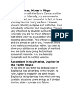 Sun in Cancer