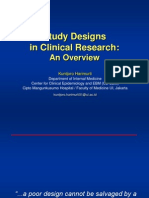 Desain Penelitian Overview - Dr. Kuntjoro Harimukti, SpPD(K)
