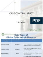 Studi Kasus Kontrol - Prof.dr.Dr. Siti Setiati, SpPD-KGer, M.epid, FINASIM
